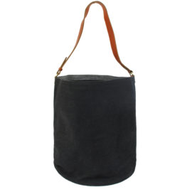 Medium Single Strap tub - black