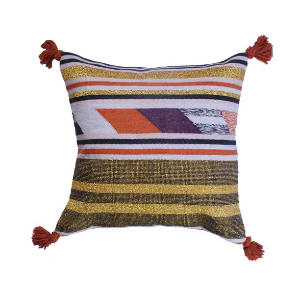 flip cushion lilac