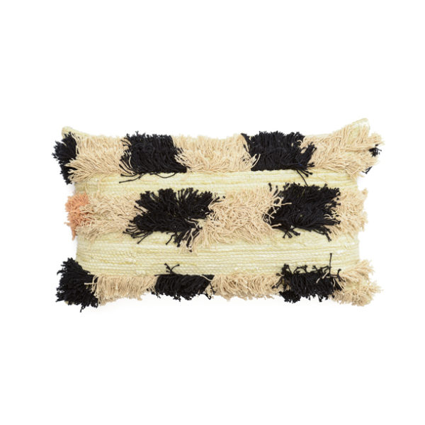 Echoes Cushion – Peach Spot