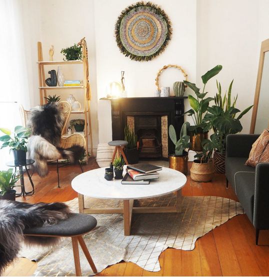 Vintage Style Home Decor Ideas Sydney Cleaning Services: Boho Scandi Living Room By InCollective
